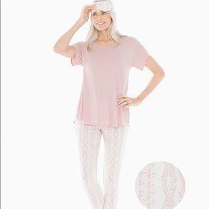 NEW Soma Cool Nights Pajama Set w Eye Mask